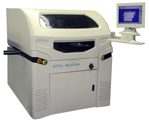 MPM AccuFlex Screen Printer